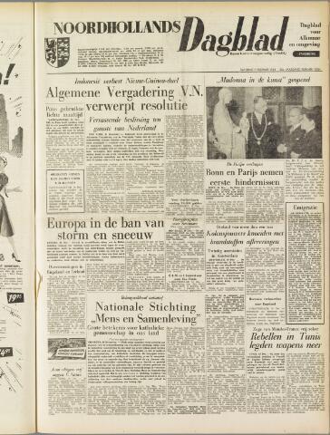 Noordhollands Dagblad : dagblad voor Alkmaar en omgeving 1954-12-11