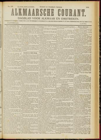 Alkmaarsche Courant 1918-06-01