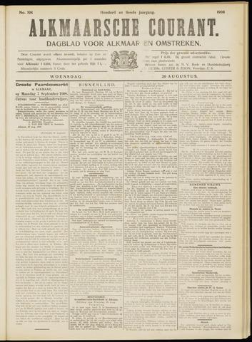 Alkmaarsche Courant 1908-08-26