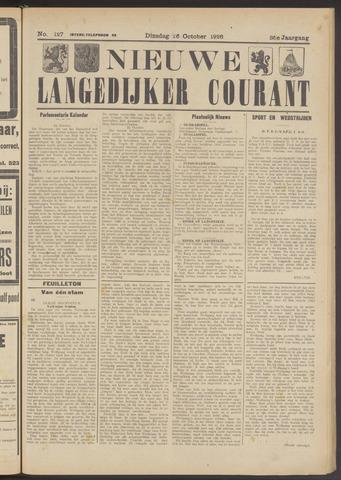 Nieuwe Langedijker Courant 1926-10-26
