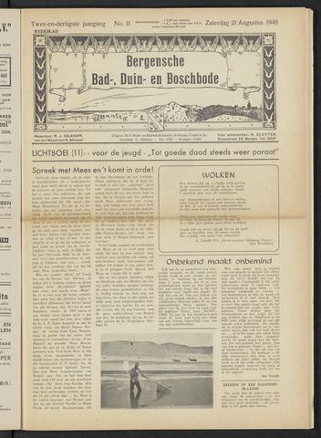 Bergensche bad-, duin- en boschbode 1948-08-21