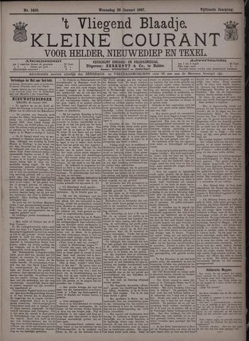 Vliegend blaadje : nieuws- en advertentiebode voor Den Helder 1887-01-26