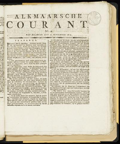 Alkmaarsche Courant 1815-09-18