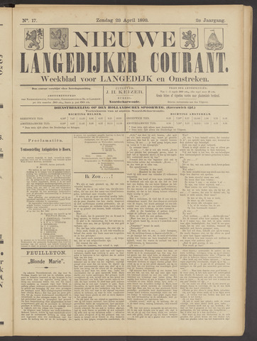 Nieuwe Langedijker Courant 1893-04-23