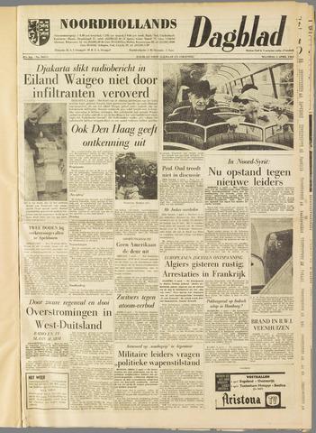 Noordhollands Dagblad : dagblad voor Alkmaar en omgeving 1962-04-02