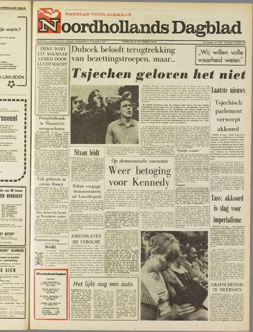 Noordhollands Dagblad : dagblad voor Alkmaar en omgeving 1968-08-28