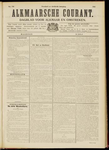 Alkmaarsche Courant 1911-07-31