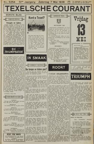 Texelsche Courant 1938-05-07