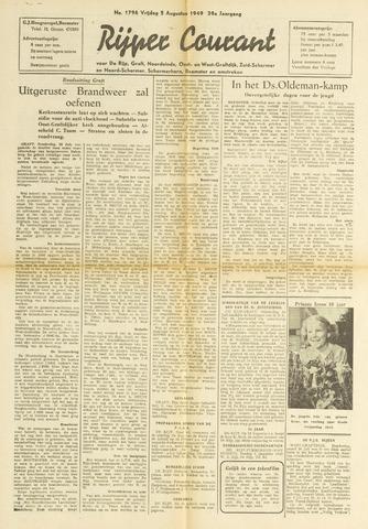 Rijper Courant 1949-08-05
