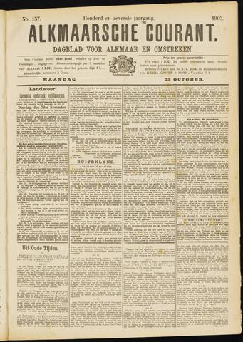 Alkmaarsche Courant 1905-10-23