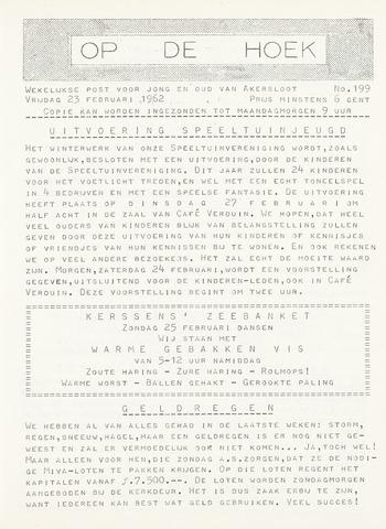 Op De Hoek, weekblad voor Akersloot 1962-02-23