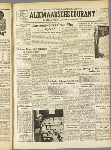 Alkmaarsche Courant 1955-05-10