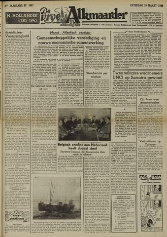 De Vrije Alkmaarder 1949-03-19