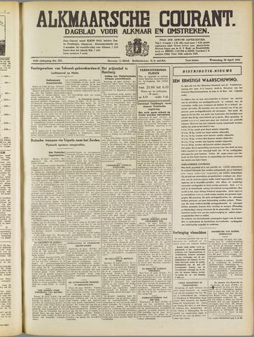 Alkmaarsche Courant 1941-04-30