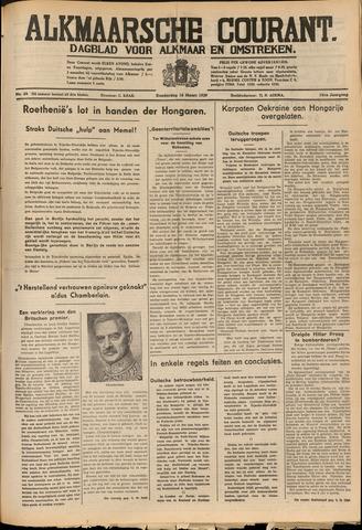 Alkmaarsche Courant 1939-03-16
