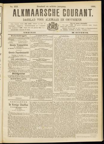 Alkmaarsche Courant 1906-10-26