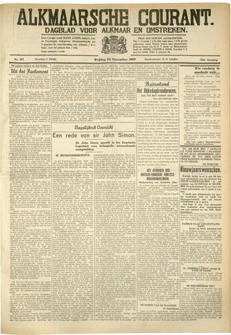 Alkmaarsche Courant 1933-12-22