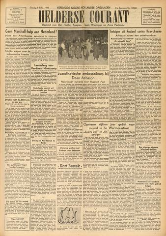 Heldersche Courant 1949-02-08