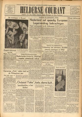 Heldersche Courant 1952-11-13