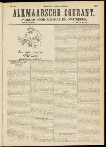 Alkmaarsche Courant 1912-11-27