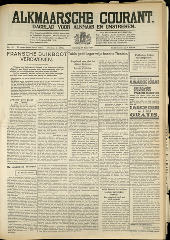 Alkmaarsche Courant 1939-06-17