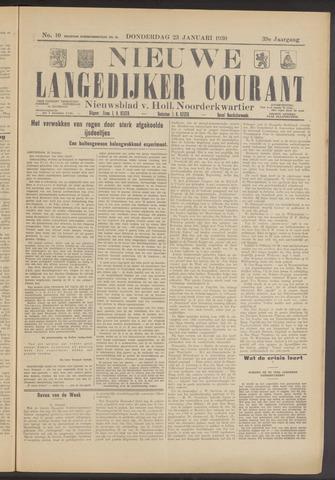 Nieuwe Langedijker Courant 1930-01-23