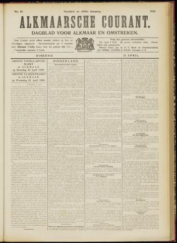 Alkmaarsche Courant 1909-04-13