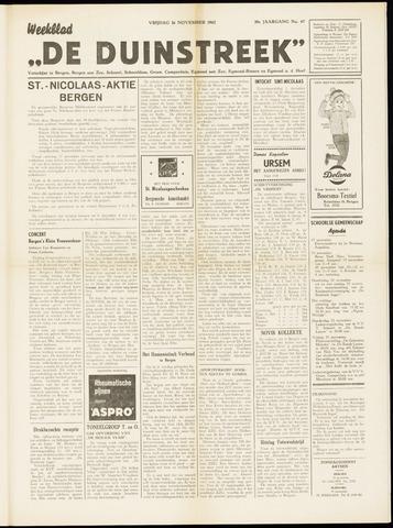 De Duinstreek 1962-11-16