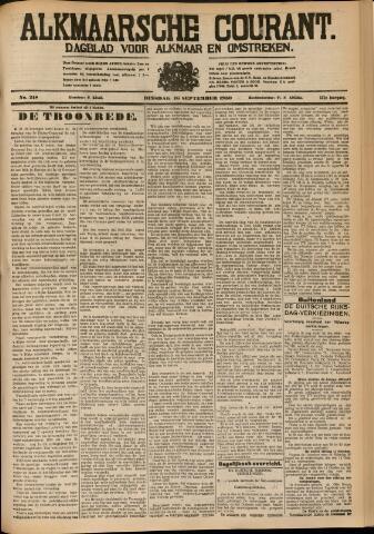 Alkmaarsche Courant 1930-09-16