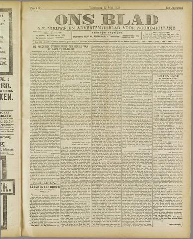 Ons Blad : katholiek nieuwsblad voor N-H 1920-05-12
