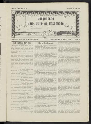 Bergensche bad-, duin- en boschbode 1911-06-30