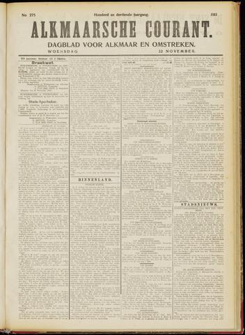 Alkmaarsche Courant 1911-11-22
