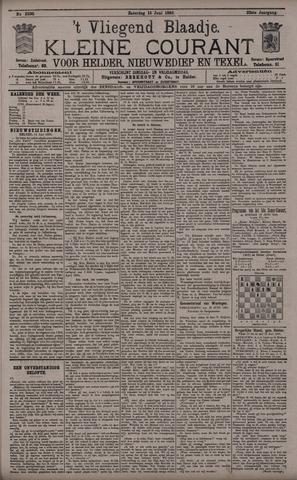 Vliegend blaadje : nieuws- en advertentiebode voor Den Helder 1895-06-15