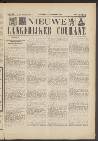Nieuwe Langedijker Courant 1924-11-06