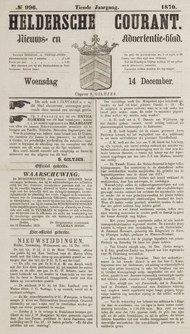 Heldersche Courant 1870-12-14