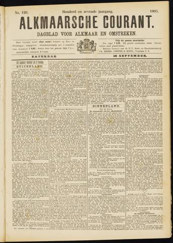 Alkmaarsche Courant 1905-09-16