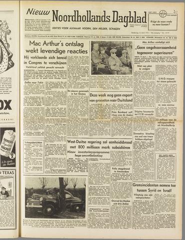 Nieuw Noordhollandsch Dagblad : voor Alkmaar en omgeving 1951-04-12
