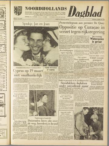 Noordhollands Dagblad : dagblad voor Alkmaar en omgeving 1960-02-09