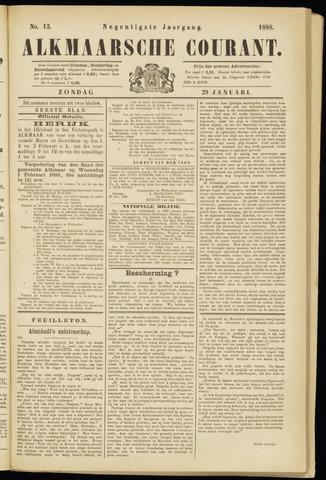Alkmaarsche Courant 1888-01-29