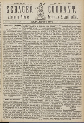 Schager Courant 1920-04-13