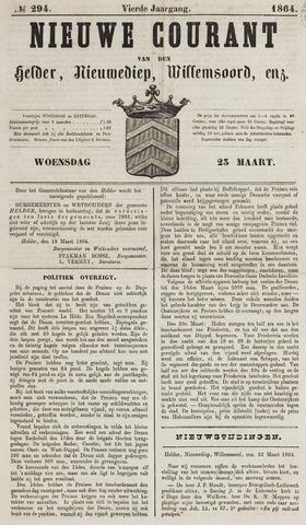 Nieuwe Courant van Den Helder 1864-03-23