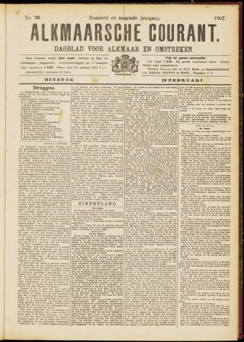 Alkmaarsche Courant 1907-02-12