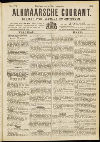 Alkmaarsche Courant 1906-07-25