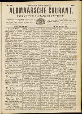Alkmaarsche Courant 1906-08-09
