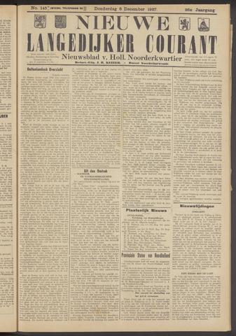 Nieuwe Langedijker Courant 1927-12-08