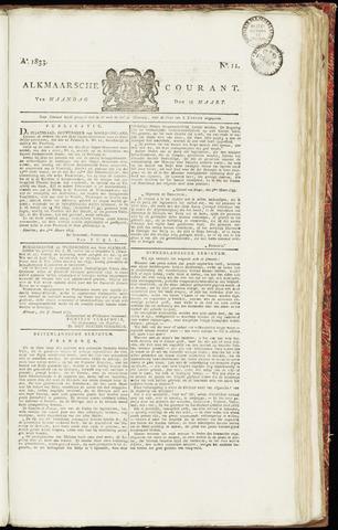 Alkmaarsche Courant 1833-03-18