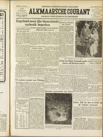 Alkmaarsche Courant 1955-07-26