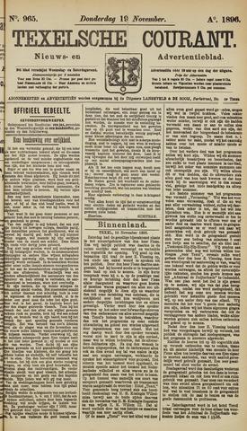 Texelsche Courant 1896-11-19