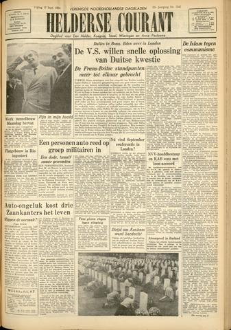 Heldersche Courant 1954-09-17
