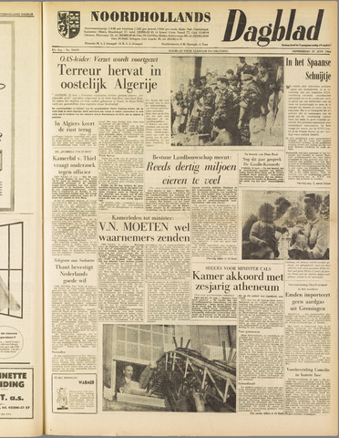Noordhollands Dagblad : dagblad voor Alkmaar en omgeving 1962-06-21